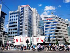Norway's most visited shopping centre contains more than 90 different shops and restaurants on five floors.   Oslo City's shops offer a wide...