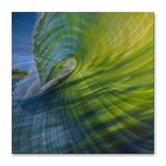 Walls Olivier Longuet 'Summer Wave 2' Wall Art