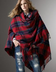 Love this poncho/scarf