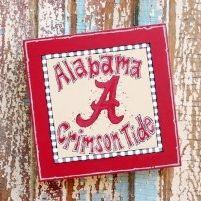 Alabama Logo Canvas
