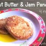 Peanut Butter and Jam Pancakes for Toddlers (PB) | Powerful Mothering