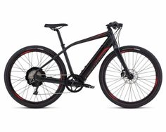 Specialized Turbo S - Pedelec 2016 | satin black-red fade...