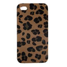 T-Shirt & Jeans Juniors Leopard Print iPhone Case #VonMaur