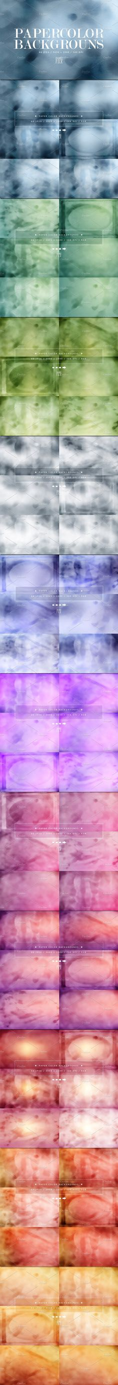Paper Color Backgrounds by OrangeFox on @creativemarket  #WATERCOLOR  #TEXTURE #BACKGROUND #PAPERWATERCOLOR  #DIGITAL #PAPERDIGITAL #PAPER #HAND  #PAINTEDDIRTY #STAINED #GRUNGE# SCRAPBOOK #BRUSH #PAINTED #ABSTRACT #BLUE  #pinkbackground #cloud