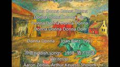 Donna Donna  ~ Joan Baez ( Lyrics )
