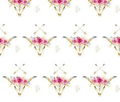 Stay Wild - White fabric by shopcabin on Spoonflower - custom fabric