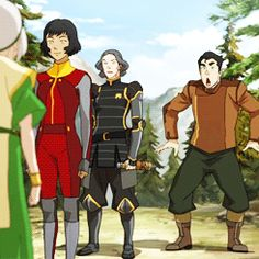 Bolin is all of us I did this same motion, while still in an office chair for both Iroh and Zuko. I cried when Iroh came on screen. Not even lying.