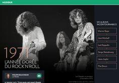 1971, l'année dorée durock'n'roll - La Presse+ Nick Drake, Carole King, Linda Mccartney, Serge Gainsbourg, Marvin Gaye, Janis Joplin, Led Zeppelin, John Lennon, Jean Pierre Ferland