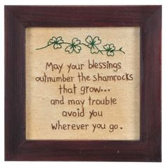 Blessings Outnumber Stitchery - Primitives by Kathy St. Patrick's Day - Events