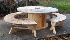 It is a great idea for the individuals who are willing to utilize the upcycled wooden pallets for adorning the patio. Investing some time in creating the cable reel patio furniture will turn out to be beneficial as it is not only impressive, but helps in saving money by giving a chance to create an amazing furniture piece.