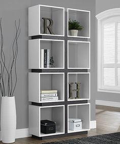 Look at this White Cube Bookcase on #zulily today!