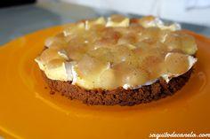 Tarta de queso y uvas / Cheesecake with grapes