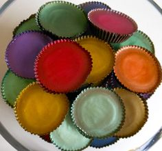 Look at these custom hand-painted Peanut Butter Cup Jewels!!