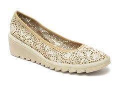Pantofi The Flexx bej, din piele naturala - Pantofi casual dama - Pantofi dama - Femei | Otter.ro