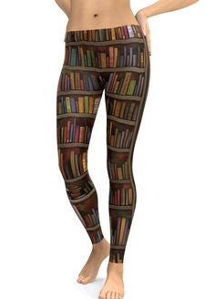 Library Book LEGGINGS PRINT ALL OVER