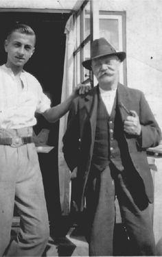 Uncle Charles Bizley and Charles Percival Beckhuson