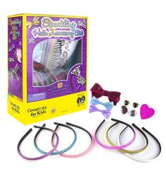 FUN FASHION: This set includes everything a fashionista needs! Design unique headbands and hairclips with trendy ribbons, feathers, rhinestones, bows, gemstones, and sparkle accents. - BENEFICIAL SKILLS: It's important that young children develop necessary skills early in their life. | eBay!