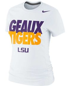 Nike Women's Lsu Tigers Local T-Shirt