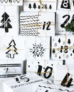Trendy diy christmas gifts from toddlers advent calendar 36 Ideas Christmas Countdown, Christmas Calendar, Noel Christmas, All Things Christmas, Christmas Crafts, Christmas Decorations, Christmas Tables, Nordic Christmas, Modern Christmas