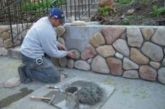 5 ways to make your home's exterior look better Want to do this to my exposed basement/foundation!