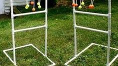 How to Make Your Own Ladder Golf Equipment