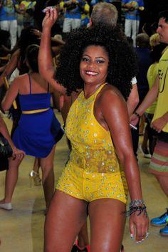 Carnaval na quadra da Escola de Samba - Rio de Janeiro