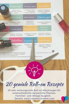 20 geniale Roll-on Mischungen für körperliche Themen - Essential Oils Essential Oil Blends, Essential Oils, Peppermint Tea Benefits, Easy Slime Recipe, Natural Disinfectant, Diy Galaxy, Doterra Oils, Yl Oils, Feeling Sick