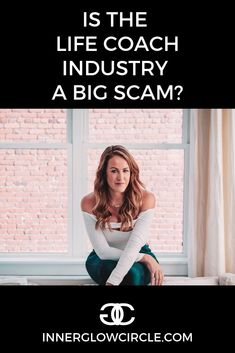 The coaching industry is blowing up, but is it all a scam? How do you tell the difference between a true coach and a fraudy 'influencer'? Life Coach Certification, Life Coach Training, Girl Boss, Personal Development, How To Become, Industrial, Student, Life Coaching, People