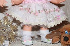 Как Фейсинки примеряли платьице / Куклы Galoob Baby Face dolls / Бэйбики. Куклы фото. Одежда для кукол