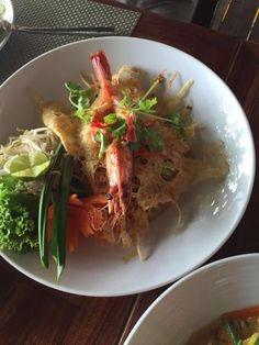 Bua Restaurant offers tasty Thai food on a cozy wooden terrace overlooking Kamala Bay, Phuket
