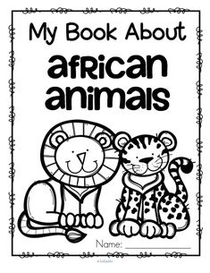 My Book About African Animals
