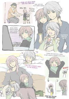Hopurai family <- i don't ship this but its still cute :D