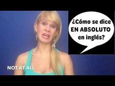 """Los Errores Más Comunes en Inglés   ¿Cómo se dice EN ABSOLUTO?  No es: """"AT ALL"""" 😅  Mira el vídeo para saber cómo se dice ;)  El blog de Amanda EL INGLÉS QUE NO SE APRENDE EN CLASE  https://youtu.be/JZ3DDn6tCTM"""