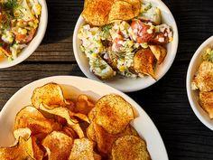 Potato Sides, Potato Side Dishes, Wine Recipes, Cooking Recipes, Tea Recipes, Snack Recipes, Crispy Chips, Chips Recipe, Vegetarian Recipes