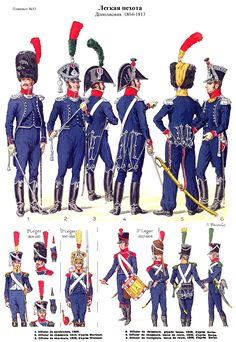 Inffanterie legere 1804-1813 (pl 33) 1