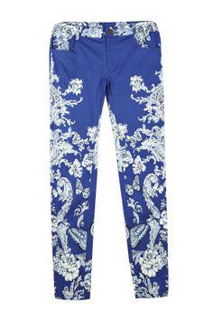 Rene Derhy China print trouser
