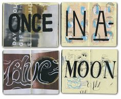 Bryce Wymer Process blog: Once in a { Sketchbooks }