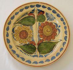 tlaquepaque mexico | Tlaquepaque Mexico 4 Dinner Plates c 1930's from ...
