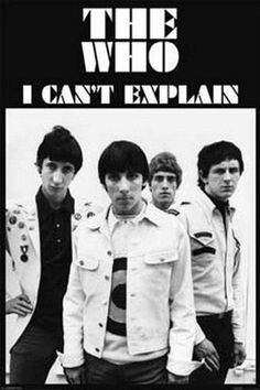 The Who Can't Explain Rare Vintage Poster by VintagePosterPlace