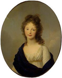 la Reine Louise de Prusse 1798    TISCHBEIN Johann Friedrich August ((1750 - 1812))