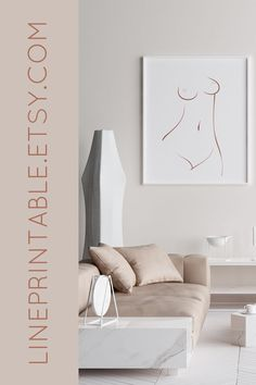 Simplicity and style - inspiring figure line drawing designs to create luxurious feel in your home! LinePrintable offers a range of cozy apartment wall art posters in mid-century modern and abstract style! Modern Wall Decor, Wall Art Decor, Wall Art Prints, Apartment Wall Art, Cozy Apartment, Guest Room Decor, Living Room Decor, Abstract Styles, Abstract Art