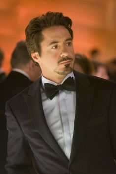 Robert Downey Jr, getting better with age! Ah, Iron Man. :)