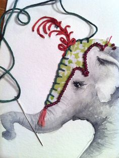 Circus Elephant Headdress Tattoo A toile tattooed circus Circus Invitations, Birthday Party Invitations, Birthday Parties, Headdress Tattoo, Boy First Birthday, Art Techniques, Drawing Reference, First Birthdays, Needlework