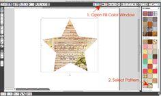 Silhouette Blog: tutorials ~ Using fill pattern