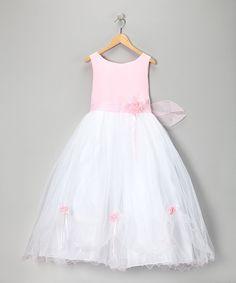 Pink Party Dress - Infant Toddler & Girls