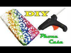 DIY How to make Hot Glue Phone Case Life Hack - YouTube