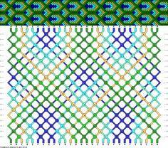 #85724 - friendship-bracelets.net 30 strings, 7 colors
