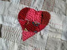 wonderful heart and stitching