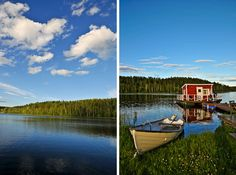 Subarctic lakes in Sweden
