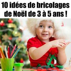 Des idées de bricolages pour les enfants en maternelle...